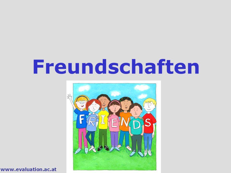 www.evaluation.ac.at Freundschaften