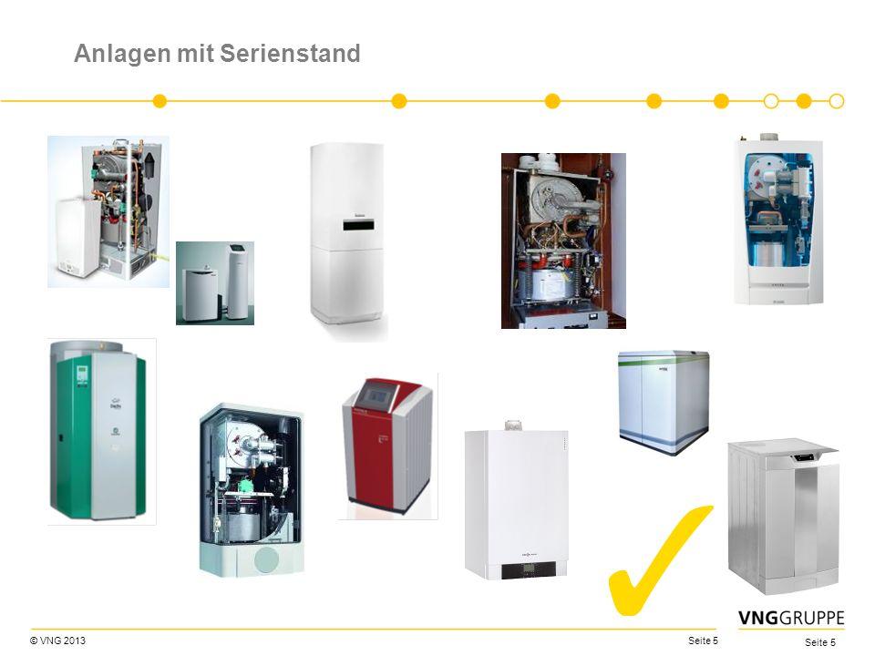 © VNG 2013 Seite 16 KWK-G Kraft-Wärme-Kopplungsgesetz (KWKG) Novelle vom 12.