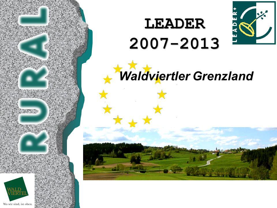LEADER2007-2013 Waldviertler Grenzland