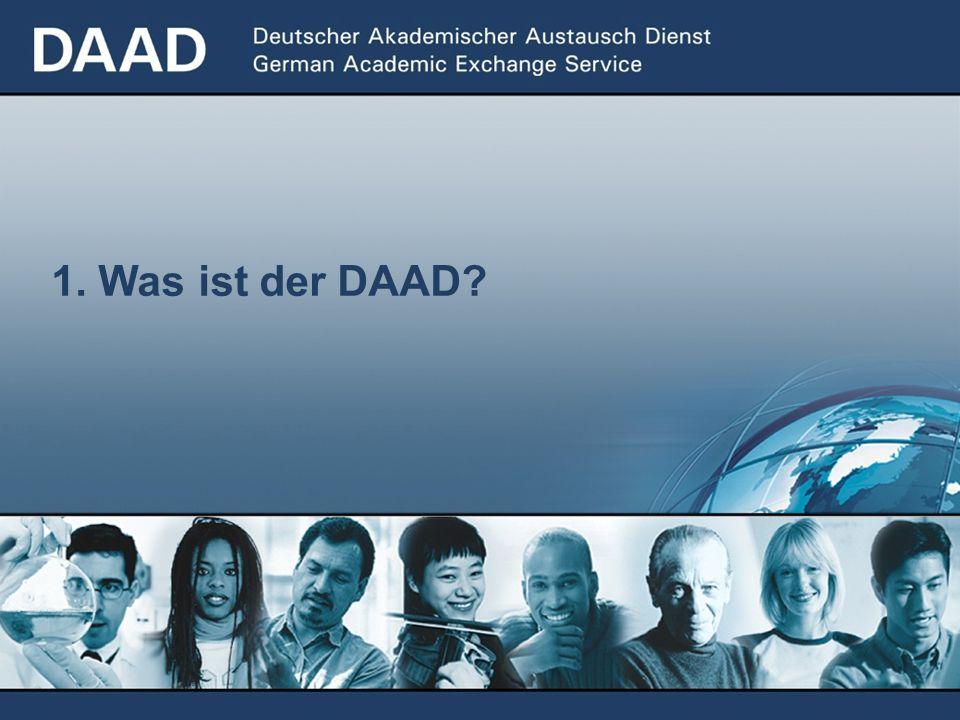 1. Was ist der DAAD?