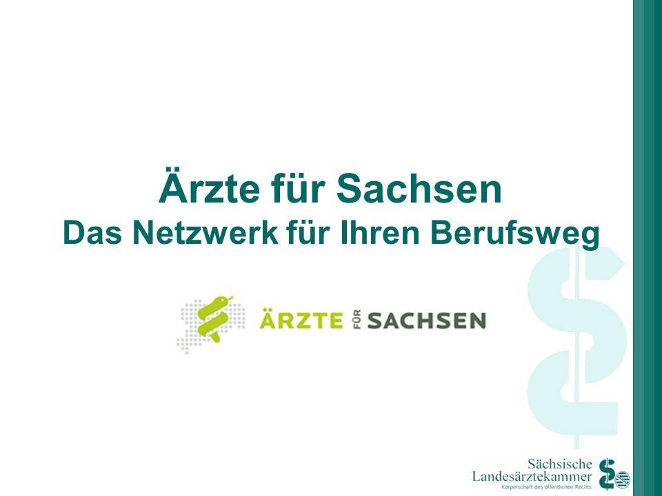 Ärzte für Sachsen Das Netzwerk für Ihren Berufsweg
