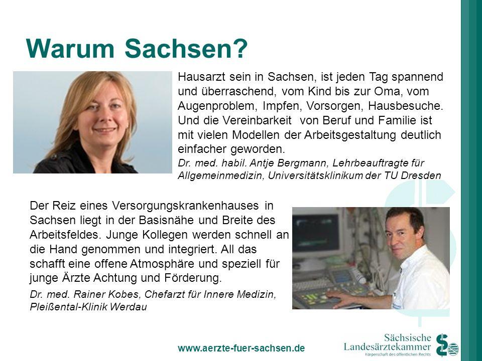 Hausarzt sein in Sachsen, ist jeden Tag spannend und überraschend, vom Kind bis zur Oma, vom Augenproblem, Impfen, Vorsorgen, Hausbesuche. Und die Ver