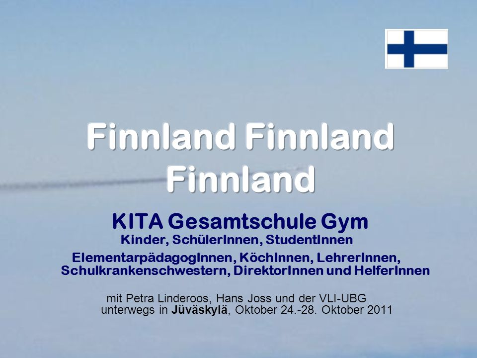 ÖLI-UG Finnlandreise Ende Oktober 2012 ?