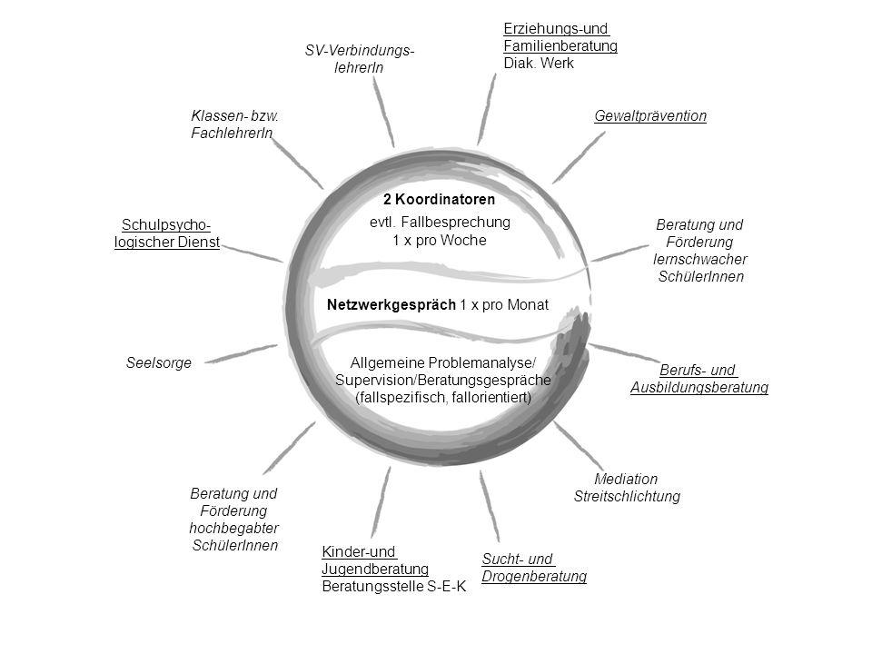Melanchthon-Schule Steinatal - Beratungsnetzwerk Beratungsbedarf 1.