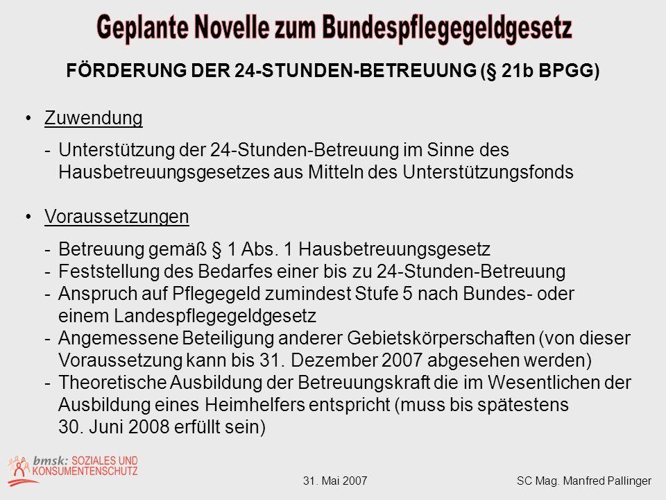 Richtlinien des Sozialministers -Nach Anhörung des Bundesbehindertenbeirates Nähere Bestimmungen z.B.