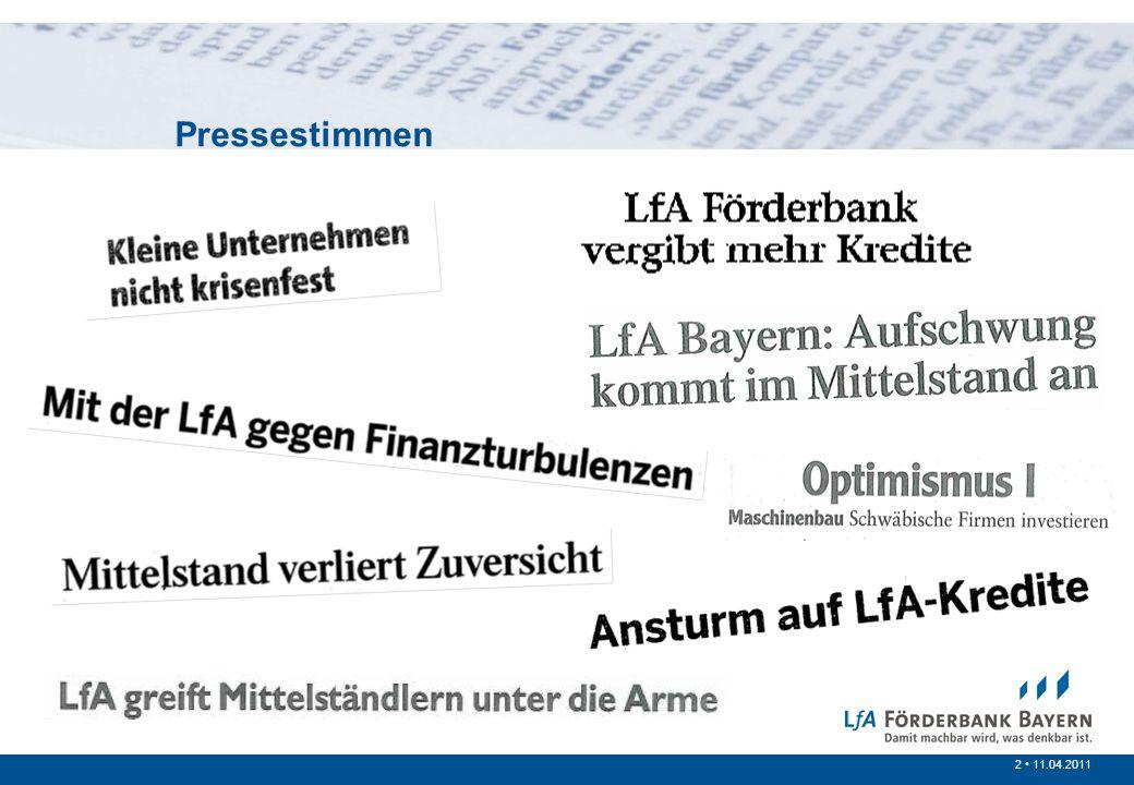 2 /20072 11.04.2011 Pressestimmen