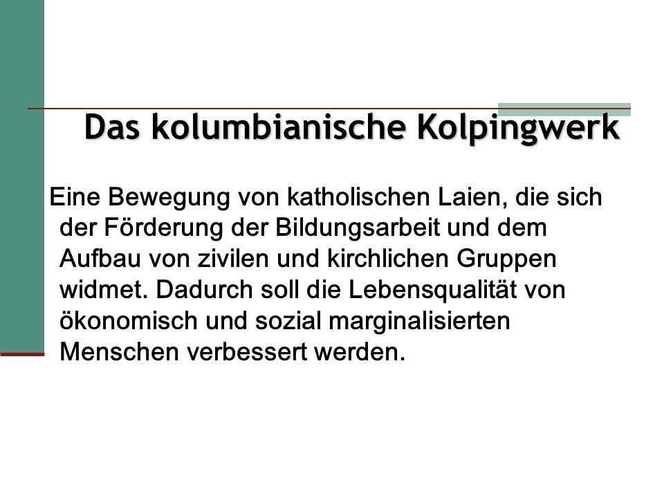 Das Kolpingwerk entsteht im 19.Jahrhundert in Deutschland, inmitten der industriellen Revolution.