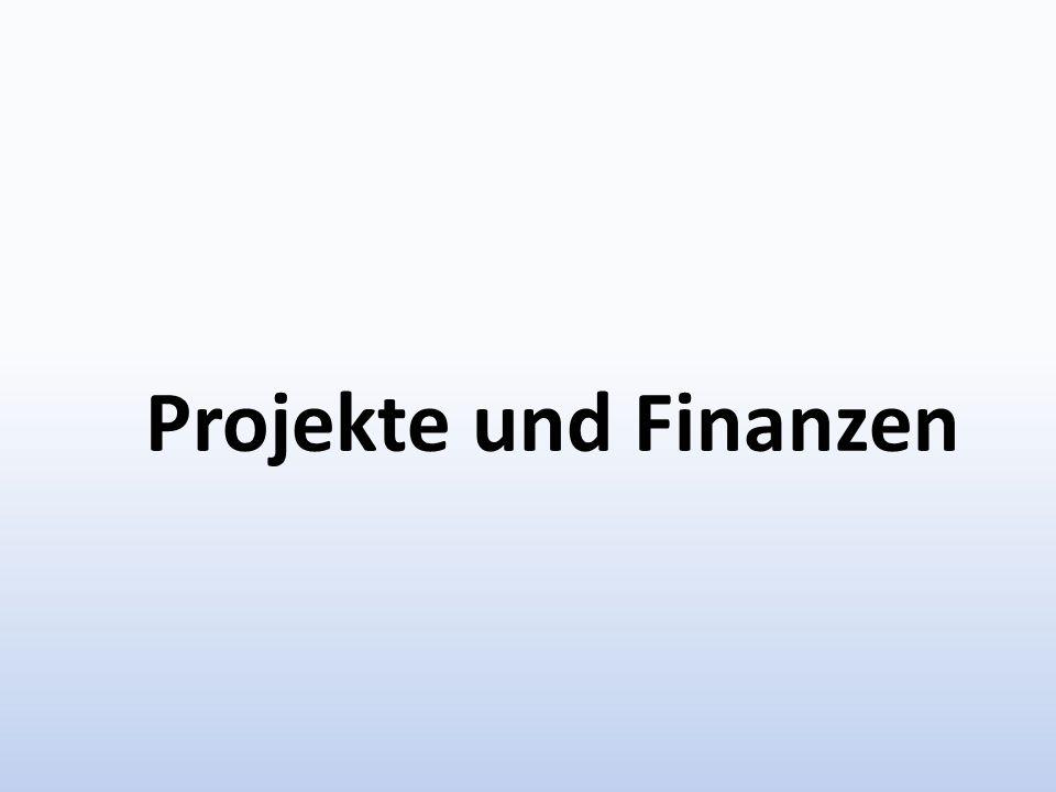 Projekte und Finanzen