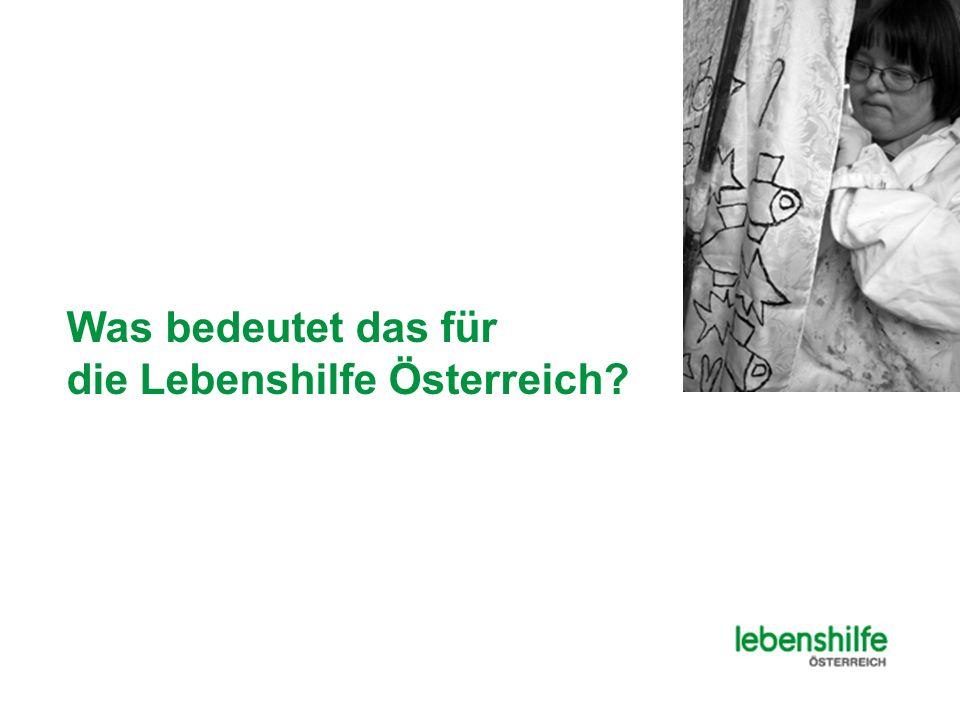 Was bedeutet das für die Lebenshilfe Österreich?