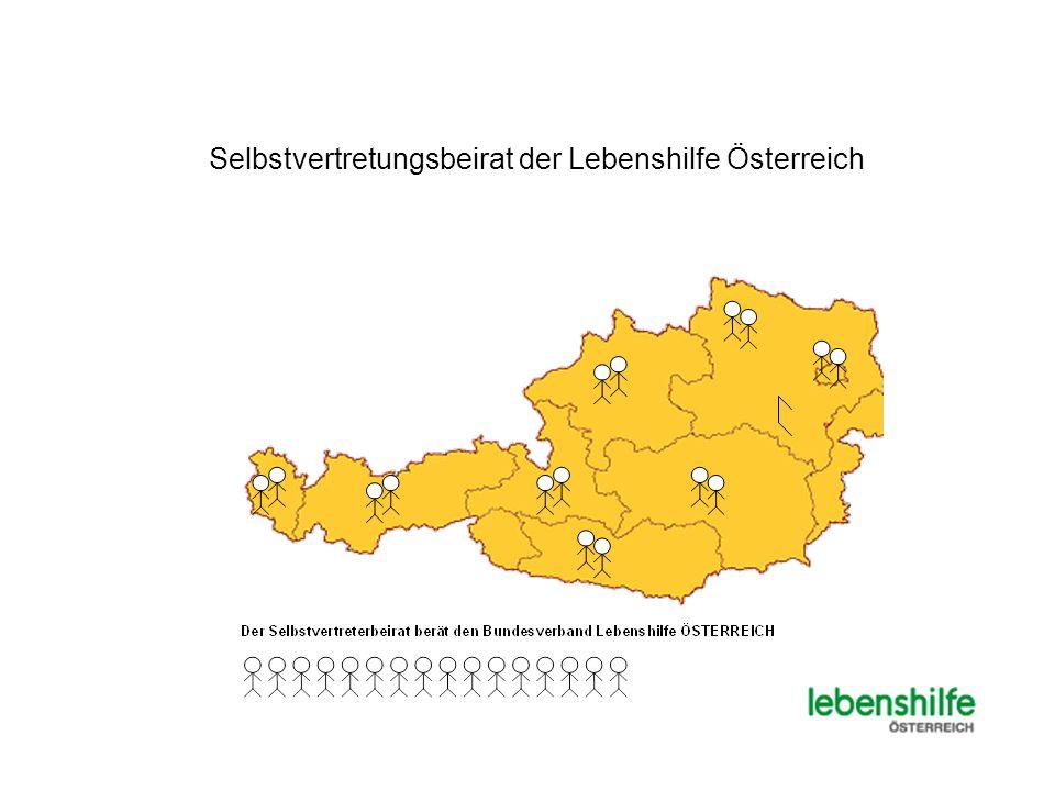 Selbstvertretungsbeirat der Lebenshilfe Österreich