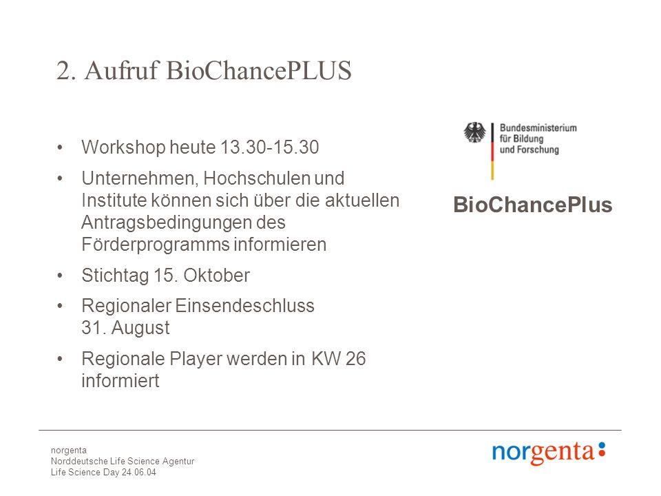 norgenta Norddeutsche Life Science Agentur Life Science Day 24.06.04 2.