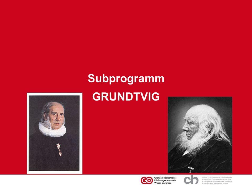Subprogramm GRUNDTVIG
