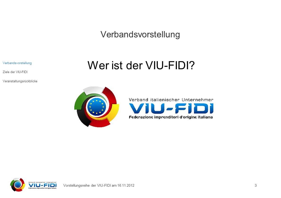 Verbandsvorstellung Wer ist der VIU-FIDI.