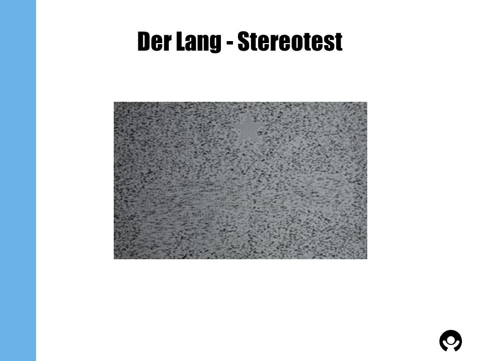 Der Lang - Stereotest
