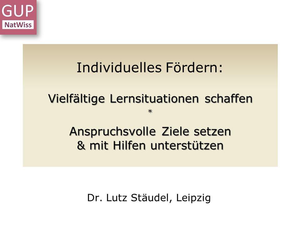 Denk-und Sprechblasen Individuell fördern - Meißen - 16.07.2013 – Dr.