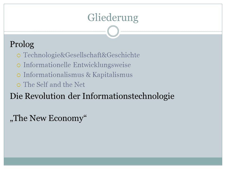 Technologie &Gesellschaft & Geschichte Technology does not determine society: it embodies it.