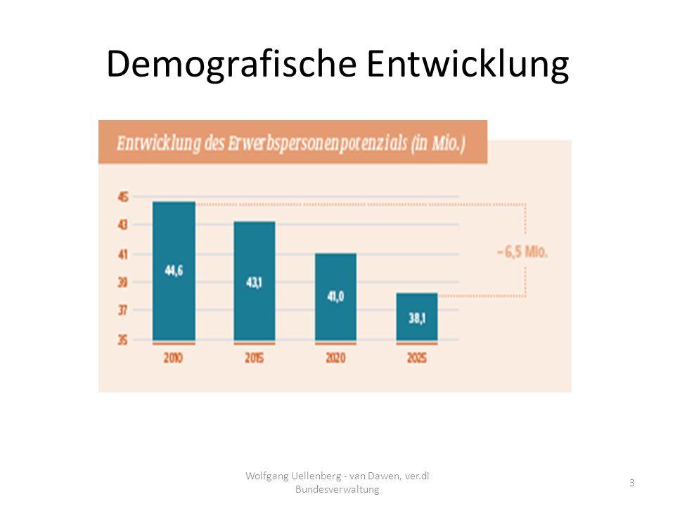 Abbau Ausbildung Wolfgang Uellenberg - van Dawen, ver.di Bundesverwaltung 14