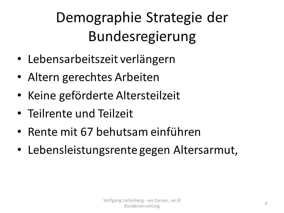Auf und Ab Altenpflege Wolfgang Uellenberg - van Dawen, ver.di Bundesverwaltung 15