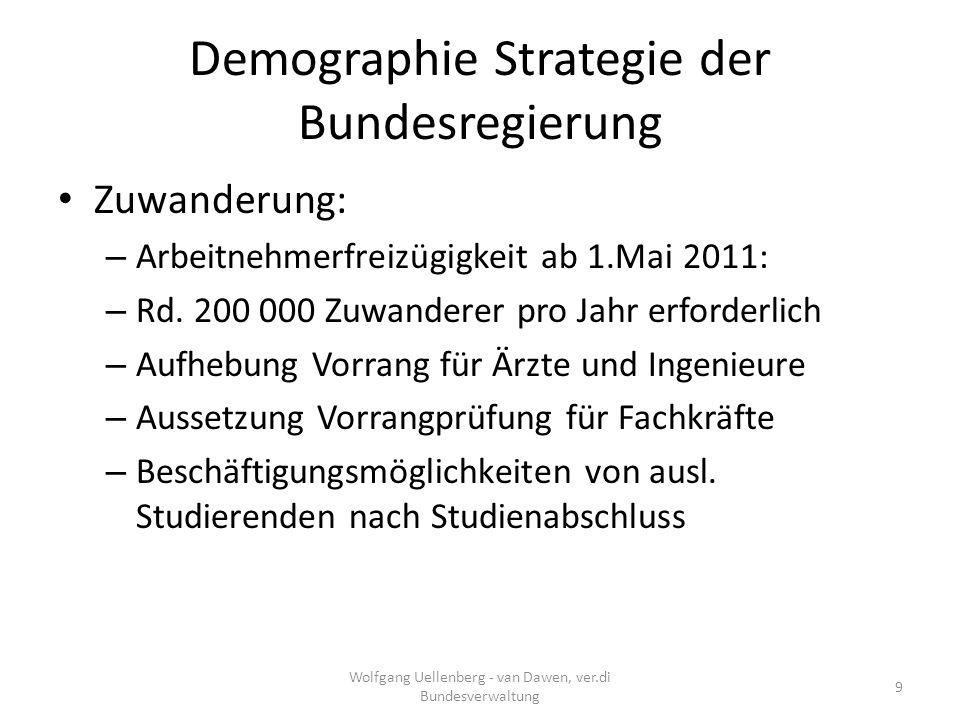 Bildung und Aufstieg Wolfgang Uellenberg - van Dawen, ver.di Bundesverwaltung 30 Anteil der Bildungsausgaben in Deutschland bei 3,8 % BIP ( OECD: 5,8 %) 8,5 % aller Schüler verlassen Schule ohne Abschluss Es fehlen jährlich im Durchschnitt 300 000 Ausbildungsplätze 1,5 Millionen junge Menschen sind ohne Ausbildung