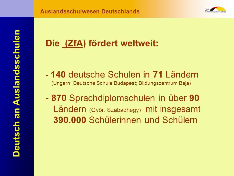 Wie lernt man Deutsch? Warum gerade Deutsch? Ausblick Grundlagen Abschluss- bereich Fachunterricht Auslandsschulwesen Deutschlands Deutsch an Auslands