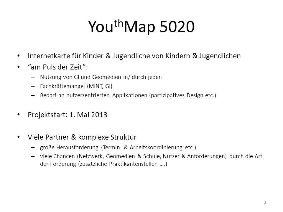 You th Map 5020 Internetkarte für Kinder & Jugendliche von Kindern & Jugendlichen am Puls der Zeit: – Nutzung von GI und Geomedien in/ durch jeden – F