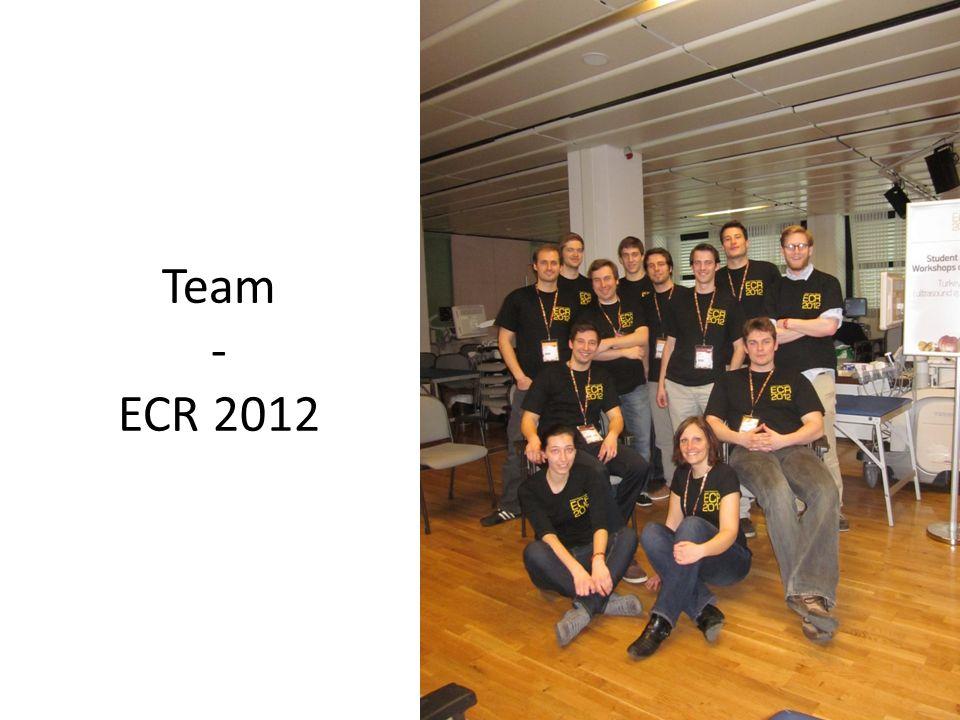 Team - ECR 2012