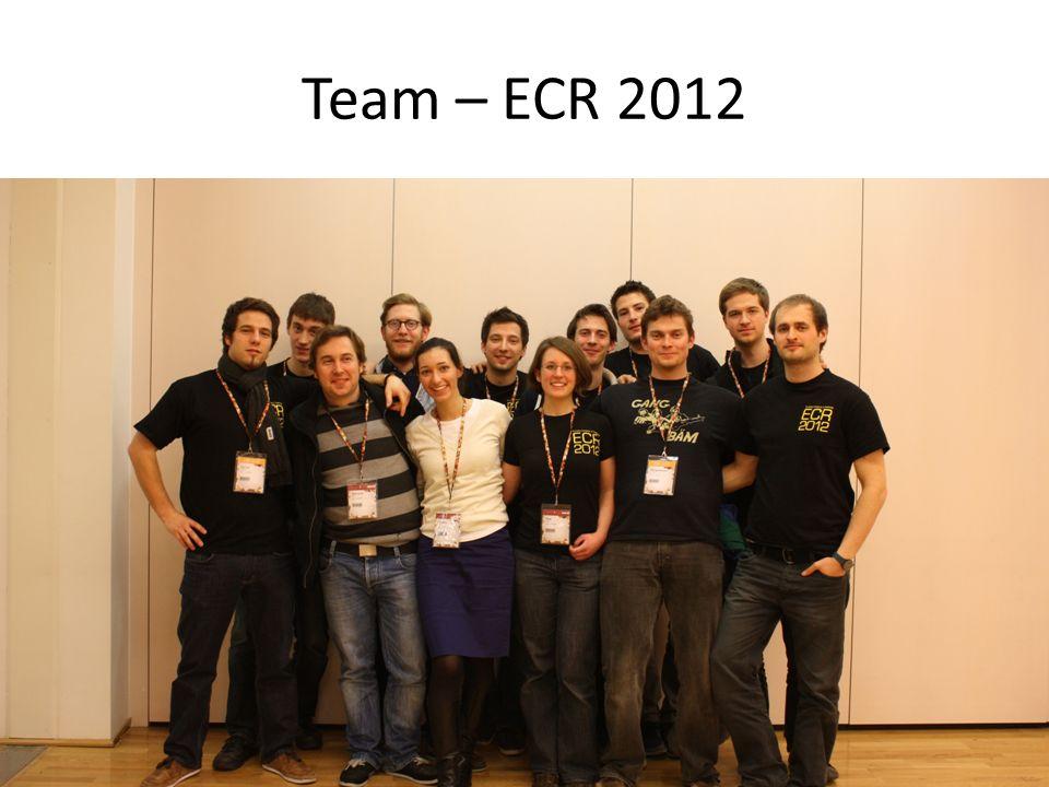Team – ECR 2012