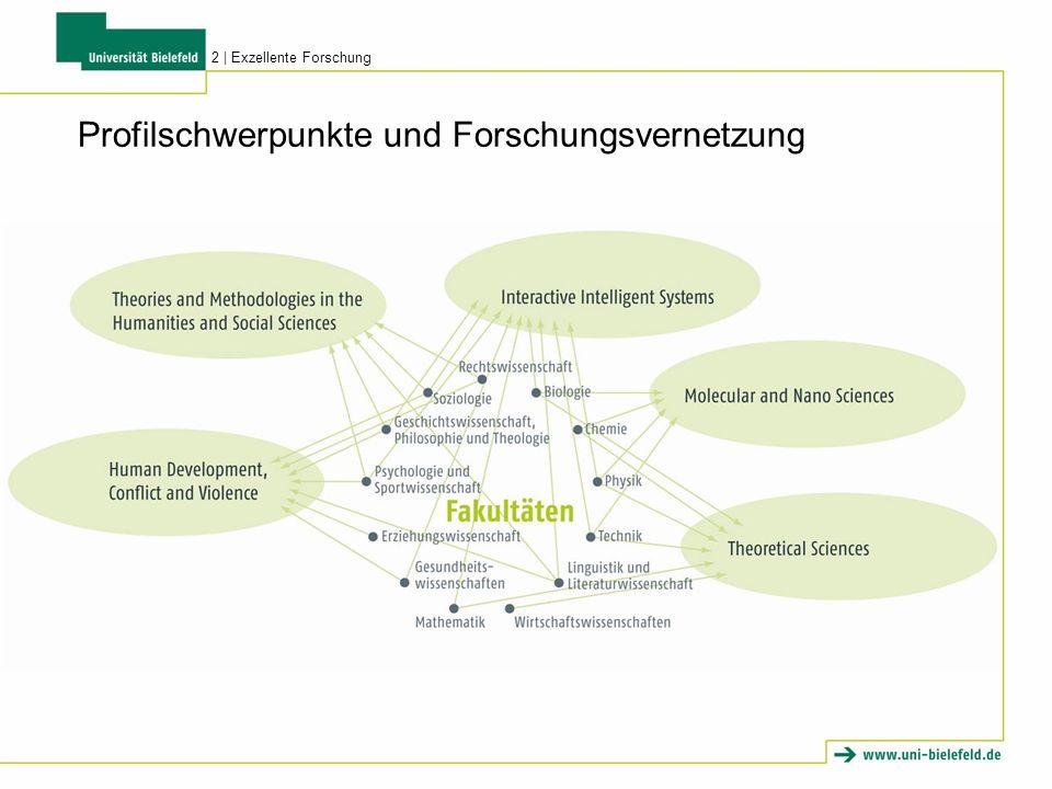Profilschwerpunkte und Forschungsvernetzung 2 | Exzellente Forschung