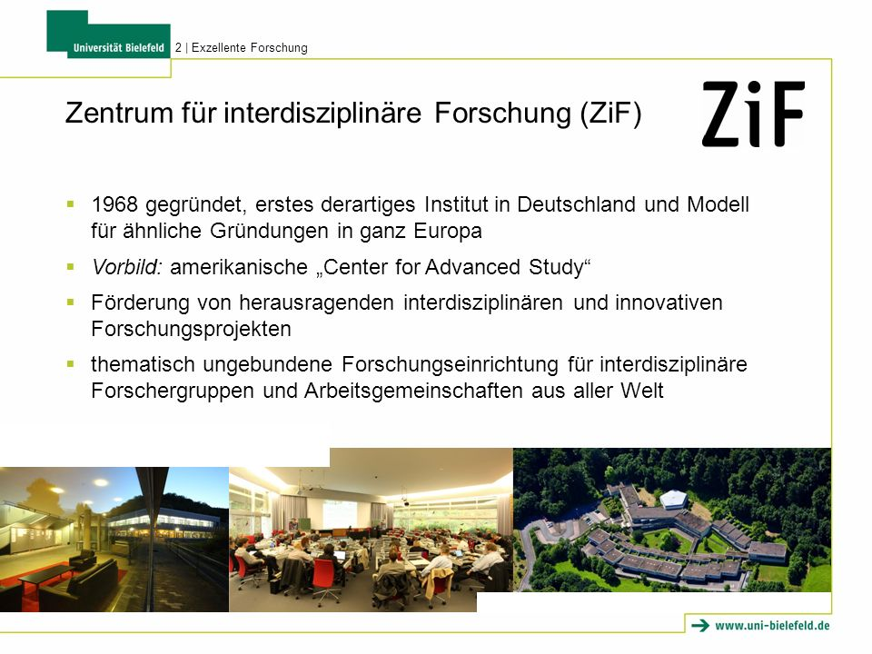 1968 gegründet, erstes derartiges Institut in Deutschland und Modell für ähnliche Gründungen in ganz Europa Vorbild: amerikanische Center for Advanced