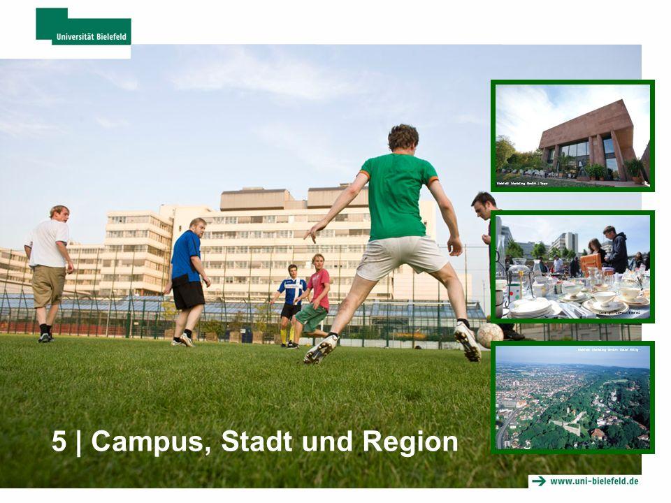 5 | Campus, Stadt und Region Bielefeld Marketing GmbH | Tope Coypright: Campus Bielefeld Bielefeld Marketing GmbH: Detlef Wittig
