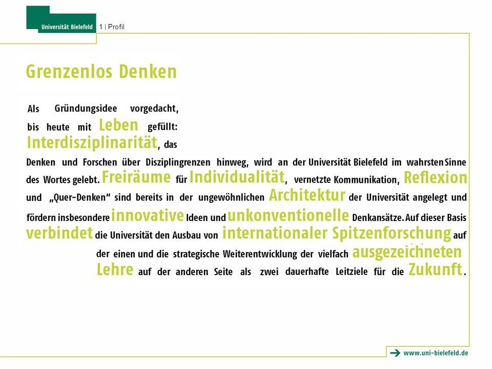 1968 gegründet, erstes derartiges Institut in Deutschland und Modell für ähnliche Gründungen in ganz Europa Vorbild: amerikanische Center for Advanced Study Förderung von herausragenden interdisziplinären und innovativen Forschungsprojekten thematisch ungebundene Forschungseinrichtung für interdisziplinäre Forschergruppen und Arbeitsgemeinschaften aus aller Welt Zentrum für interdisziplinäre Forschung (ZiF) 2   Exzellente Forschung