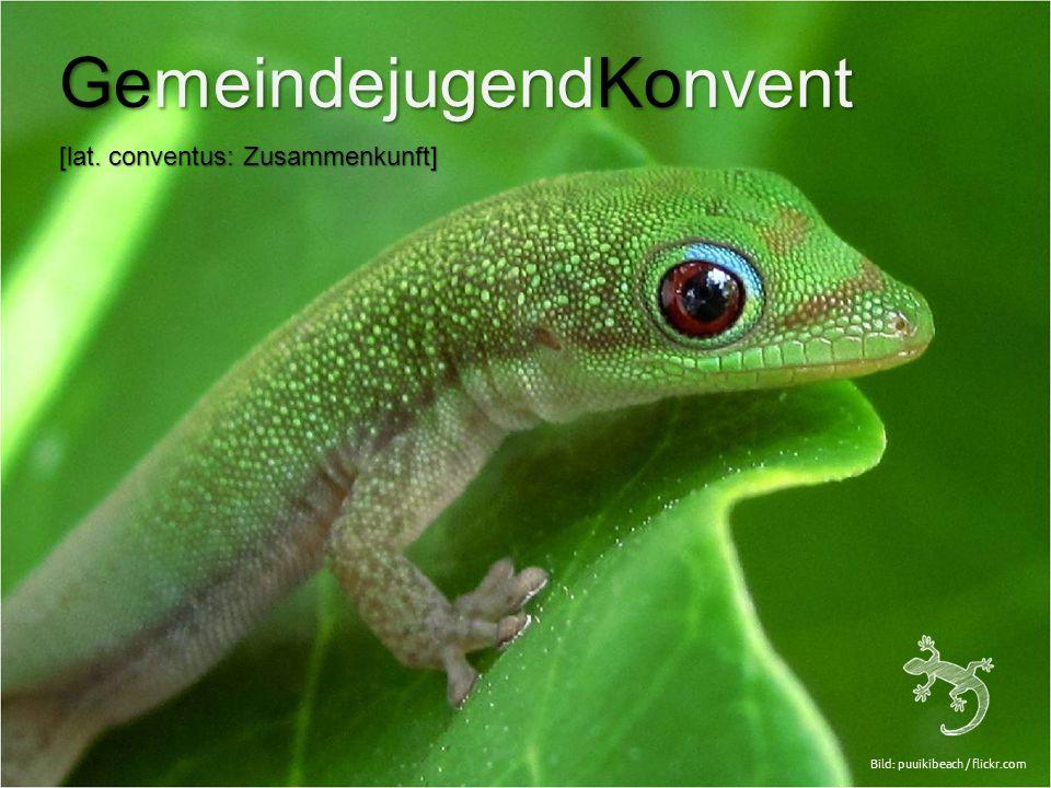 Bild: puuikibeach / flickr.com GemeindejugendKonvent [lat. conventus: Zusammenkunft]