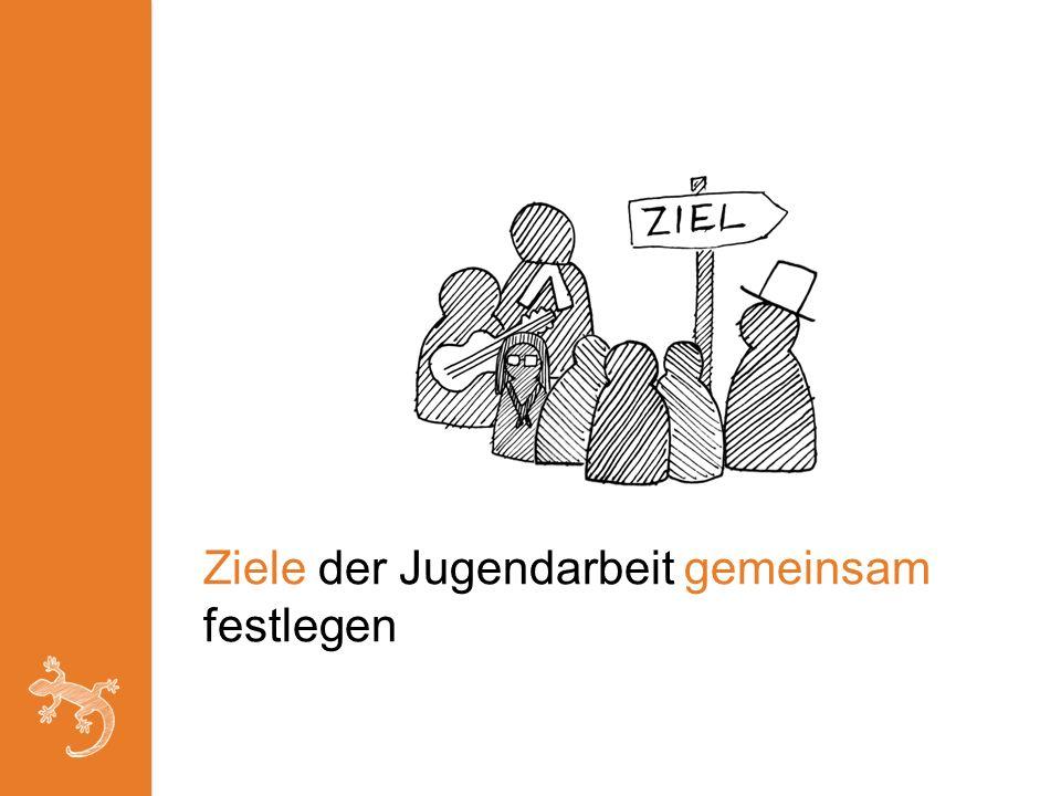 Ziele der Jugendarbeit gemeinsam festlegen