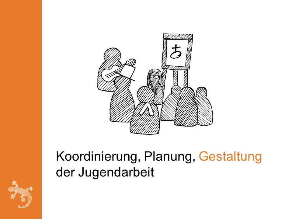 Koordinierung, Planung, Gestaltung der Jugendarbeit