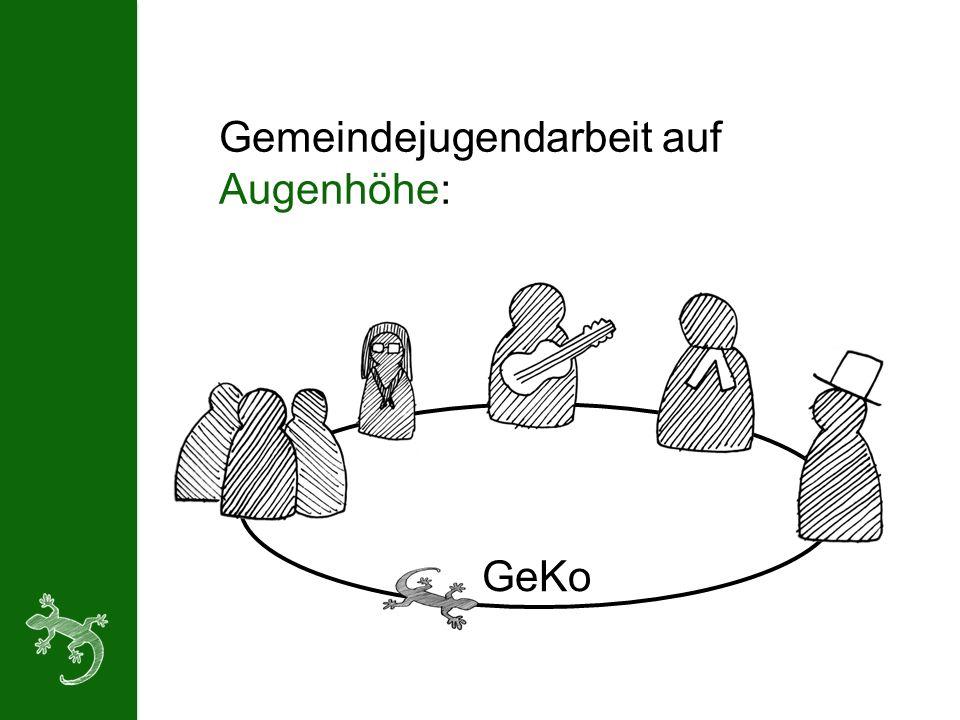 Gemeindejugendarbeit auf Augenhöhe: GeKo