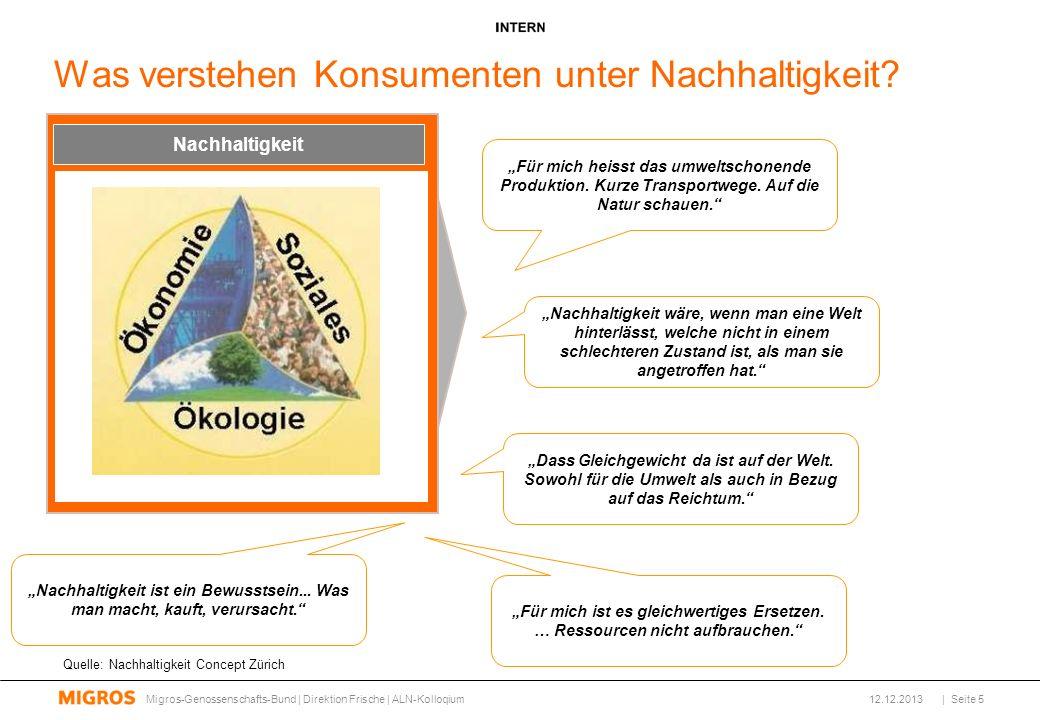 Innovatives Sortiment 12.12.2013 Alnatura bietet innovative, geschmackvolle Produkte in höchster Bio-Qualität: Migros-Genossenschafts-Bund | Direktion Frische | ALN-Kolloqium| Seite 16