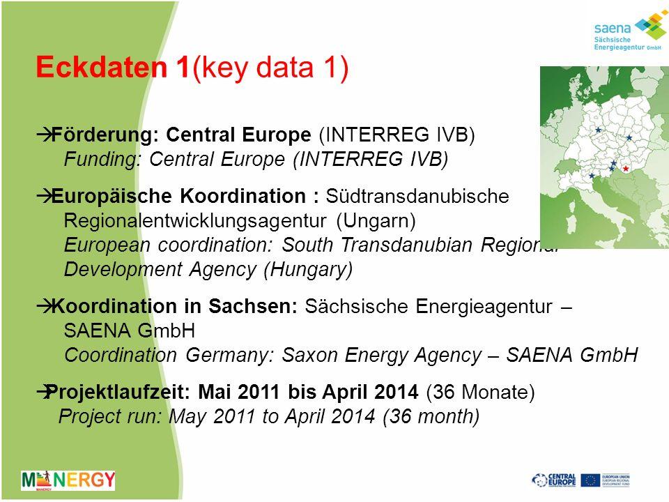 Eckdaten 2 (key data 2) andere Partner (other project partners): Universität Maribor (Slowenien), University Maribor (Slovenia) Provinz Treviso (Italien), Provinz of Treviso (Italy) Regionalentwicklungsagentur ARLEG (Polen), Regional Development Agency ARLEG (Poland) EU Regionalmanagement Oststeiermark (Österreich), EU Regionalmanagement East Styria (Austria)