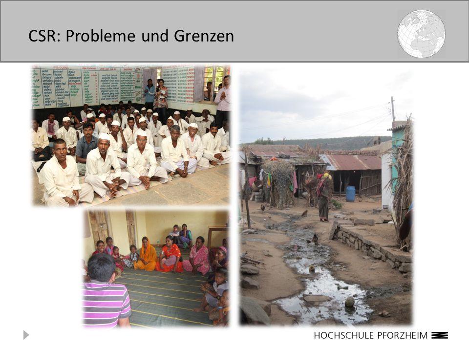 CSR: Probleme und Grenzen