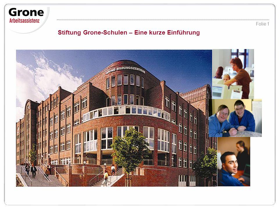 2 Stiftung Grone-Schulen: Arbeitsmarktdienstleistung in 13 Bundesländern