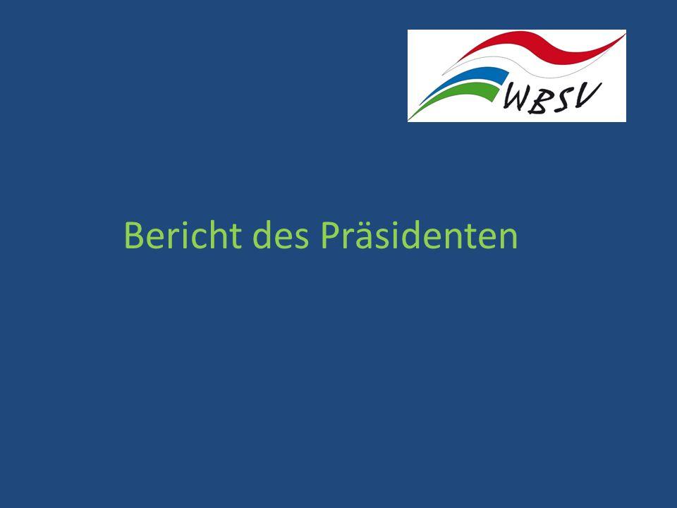 Bericht des Präsidenten