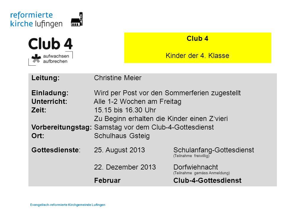 Club 4 Kinder der 4.