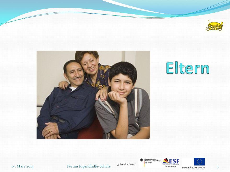gefördert von: Forum Jugendhilfe-Schule14. März 20133