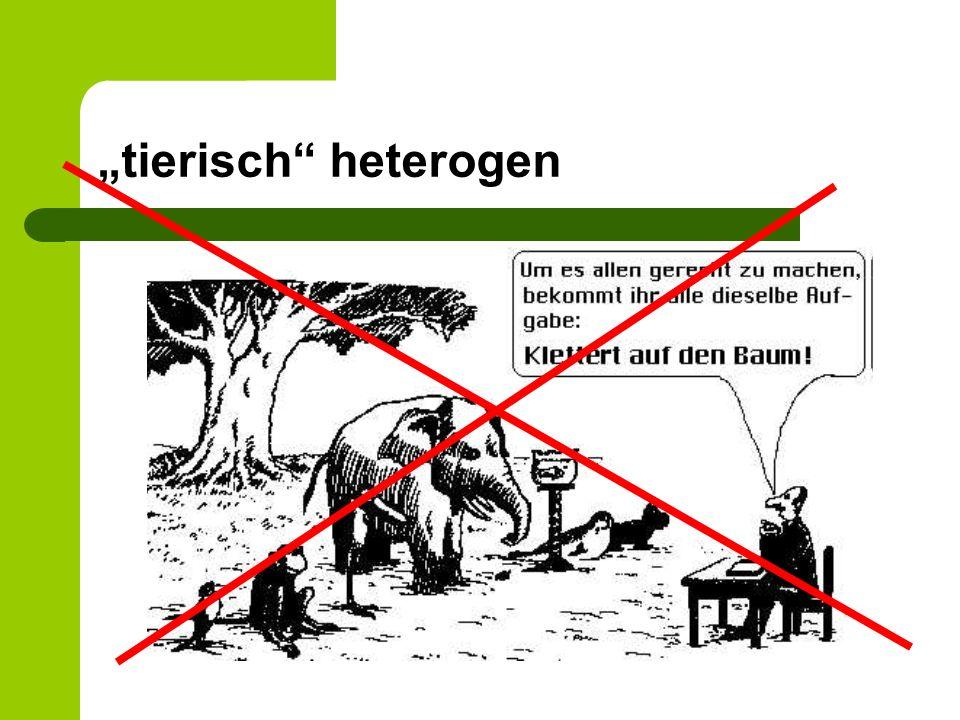 tierisch heterogen