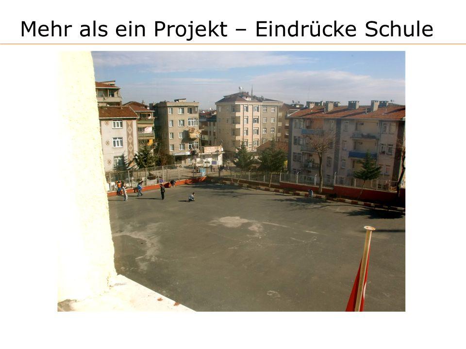 Mehr als ein Projekt – Eindrücke Schule