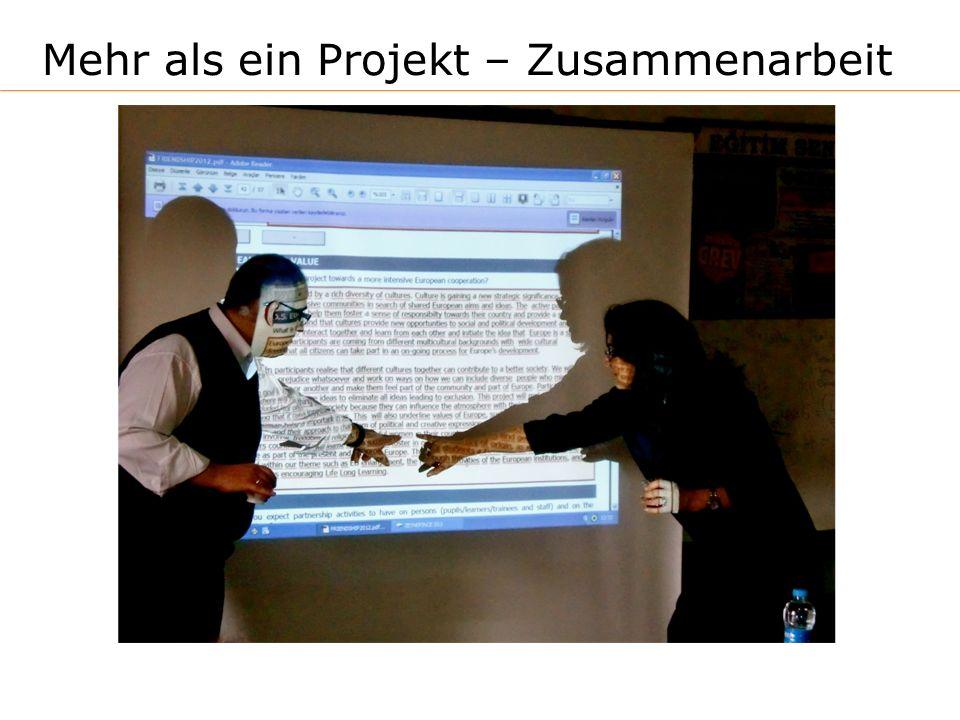 Mehr als ein Projekt – Zusammenarbeit