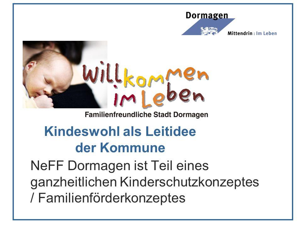 Kindeswohl als Leitidee der Kommune NeFF Dormagen ist Teil eines ganzheitlichen Kinderschutzkonzeptes / Familienförderkonzeptes