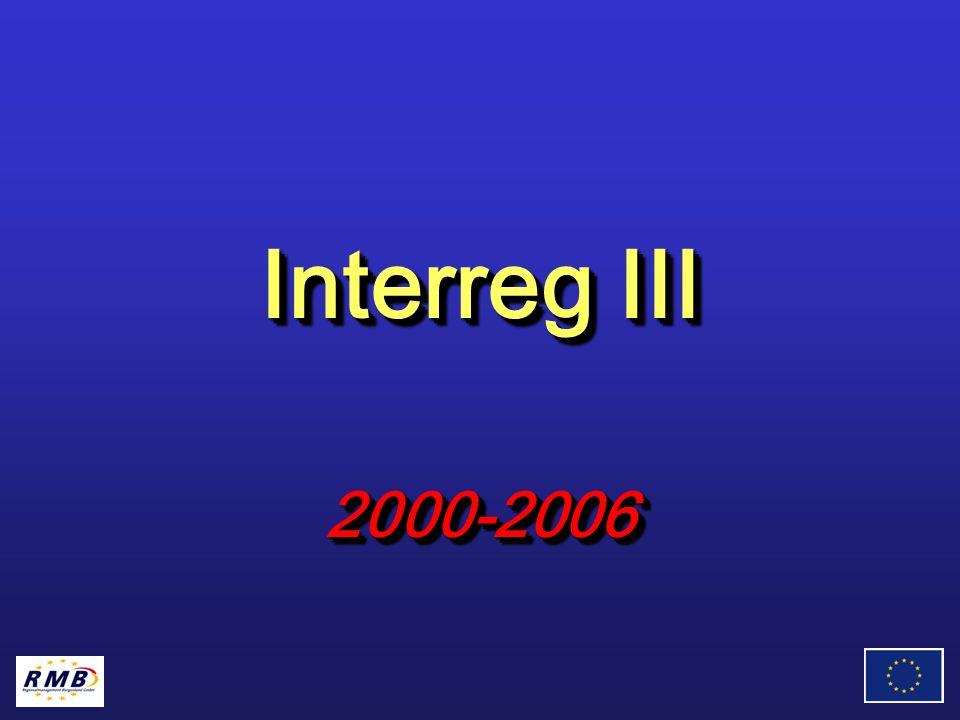 Interreg III 2000-2006 2000-2006