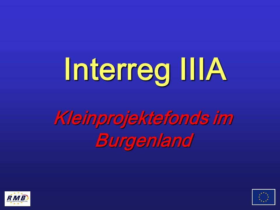Interreg IIIA Kleinprojektefonds im Burgenland