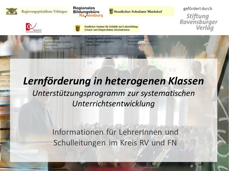 Arbeitskreis Unterrichtsentwicklung Agenda 1. Beteiligte, Historie 2.Konzeption 3.Organisation