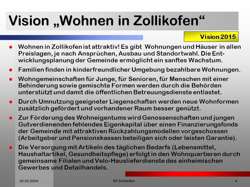 25.03.2004SP Zollikofen15 Wie arbeiten wir .